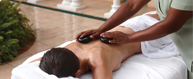 hot stone massage at the bodyholiday