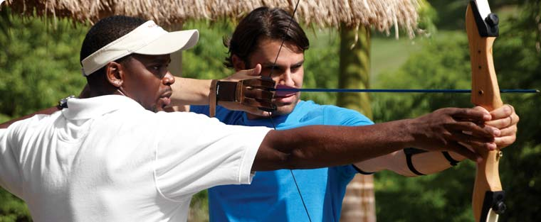 archery, st. lucia resort