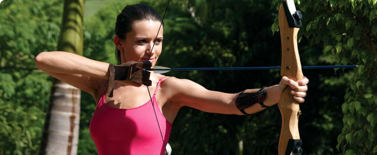 archery in st. lucia
