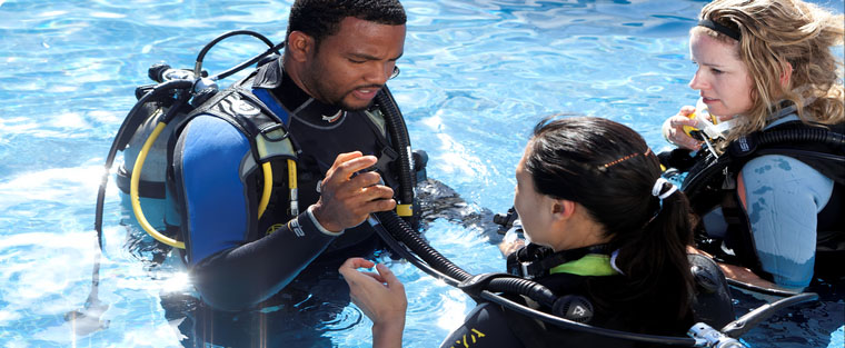 dive training in st. lucia