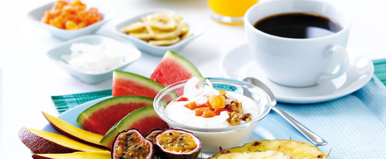 breakfast at the bodyholiday resort