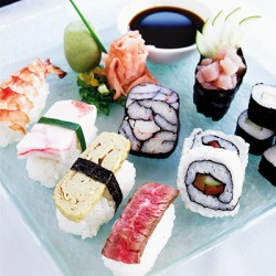 Sushi Rolling Steps