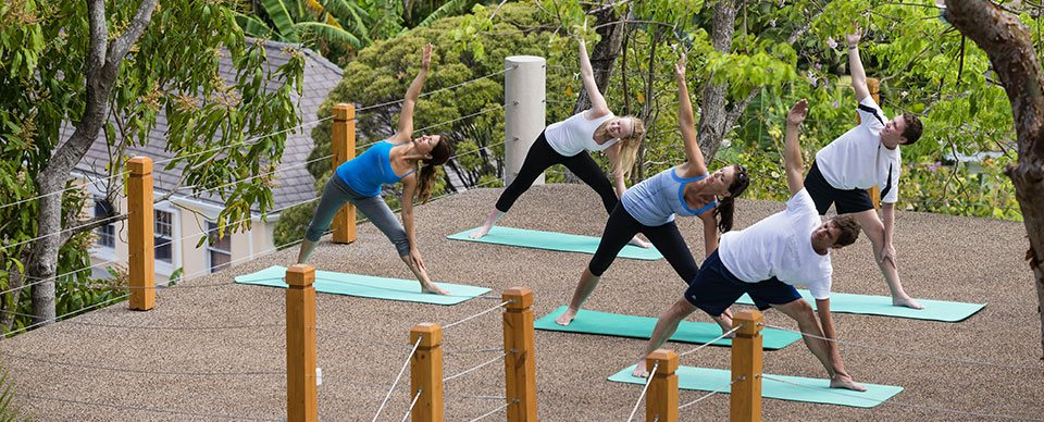 Outdoor Fitness Classes in St Lucia