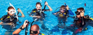 Diving in St Lucia