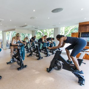 Spinning Exercise at Body Holiday