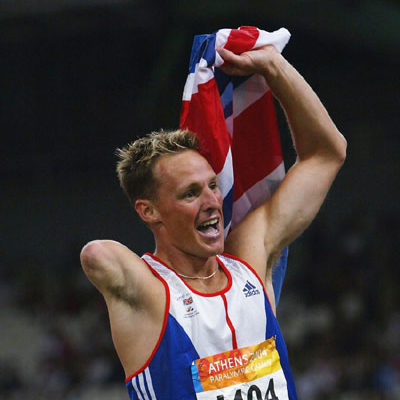 Danny Crates Paralympic Runner
