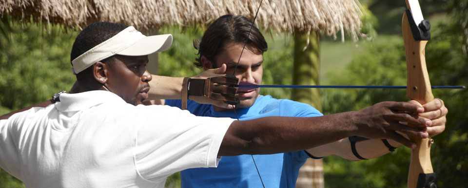 Archery Lessons in Body Holiday
