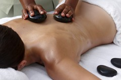 Aromastone Massage in St Lucia