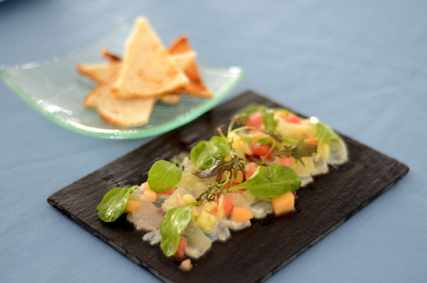Ceviche in St Lucia Restaurants
