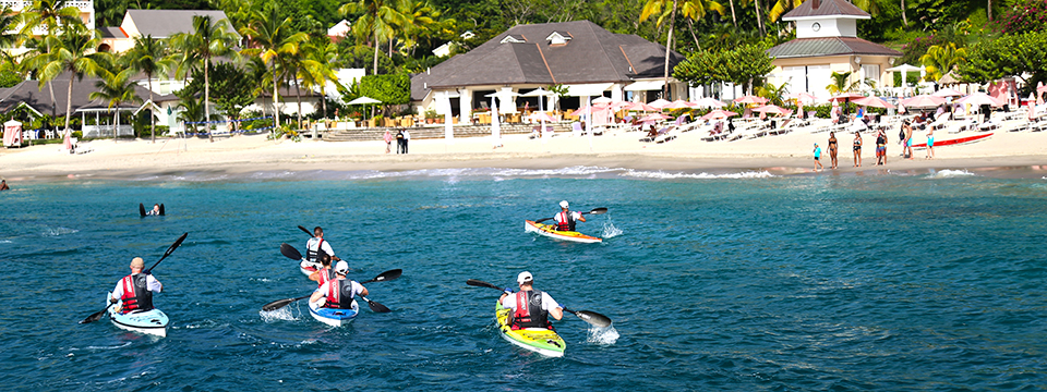 Kayaking Activities at Body Holiday