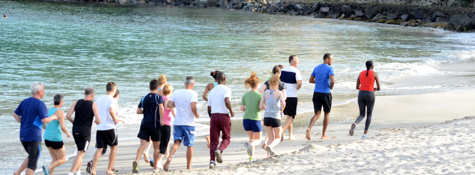 Beachfit at The BodyHoliday