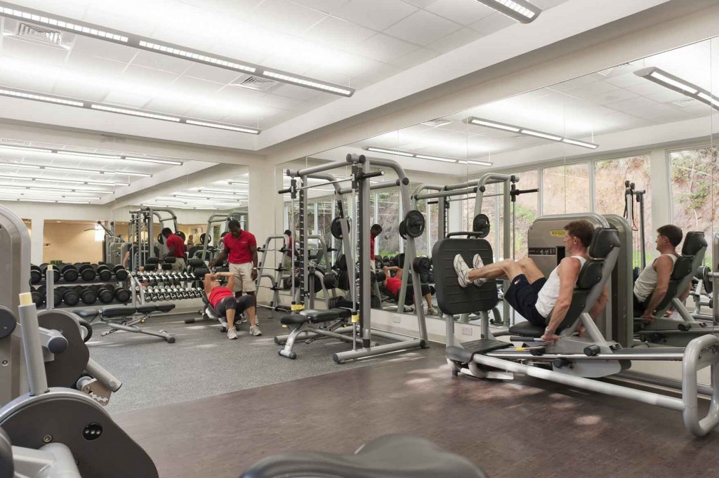 State of the art Gym at The BodyHoliday
