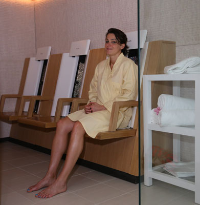 Infrared Sauna at The BodyHoliday