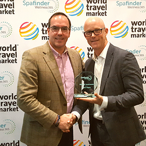 "And receiving ""Best for Fitness"" for ""Solo Travelers and ""Best in the Caribbean"""