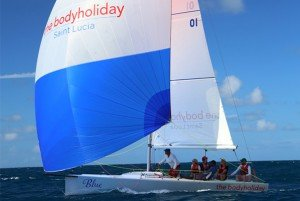 Sailing with Xtreme 26 in St Lucia