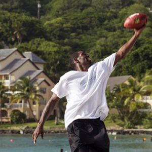 Randy Moss in St Lucia
