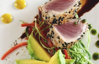 Tuna Cooked to Perfection