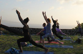 Sunset Yoga in St Lucia