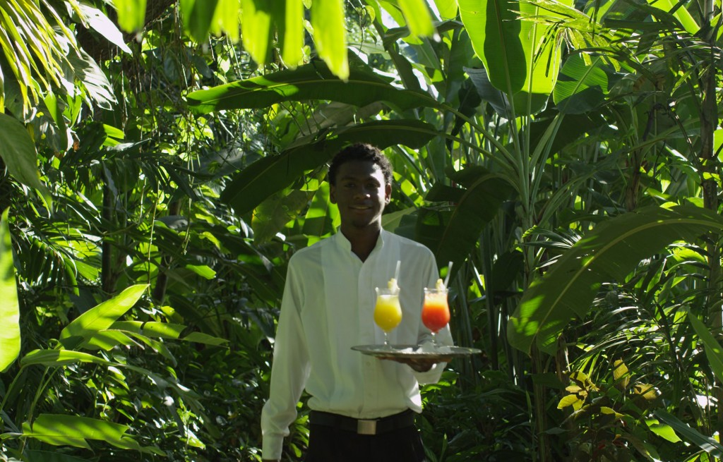 Cocktails served in the Paradise Rendezvous