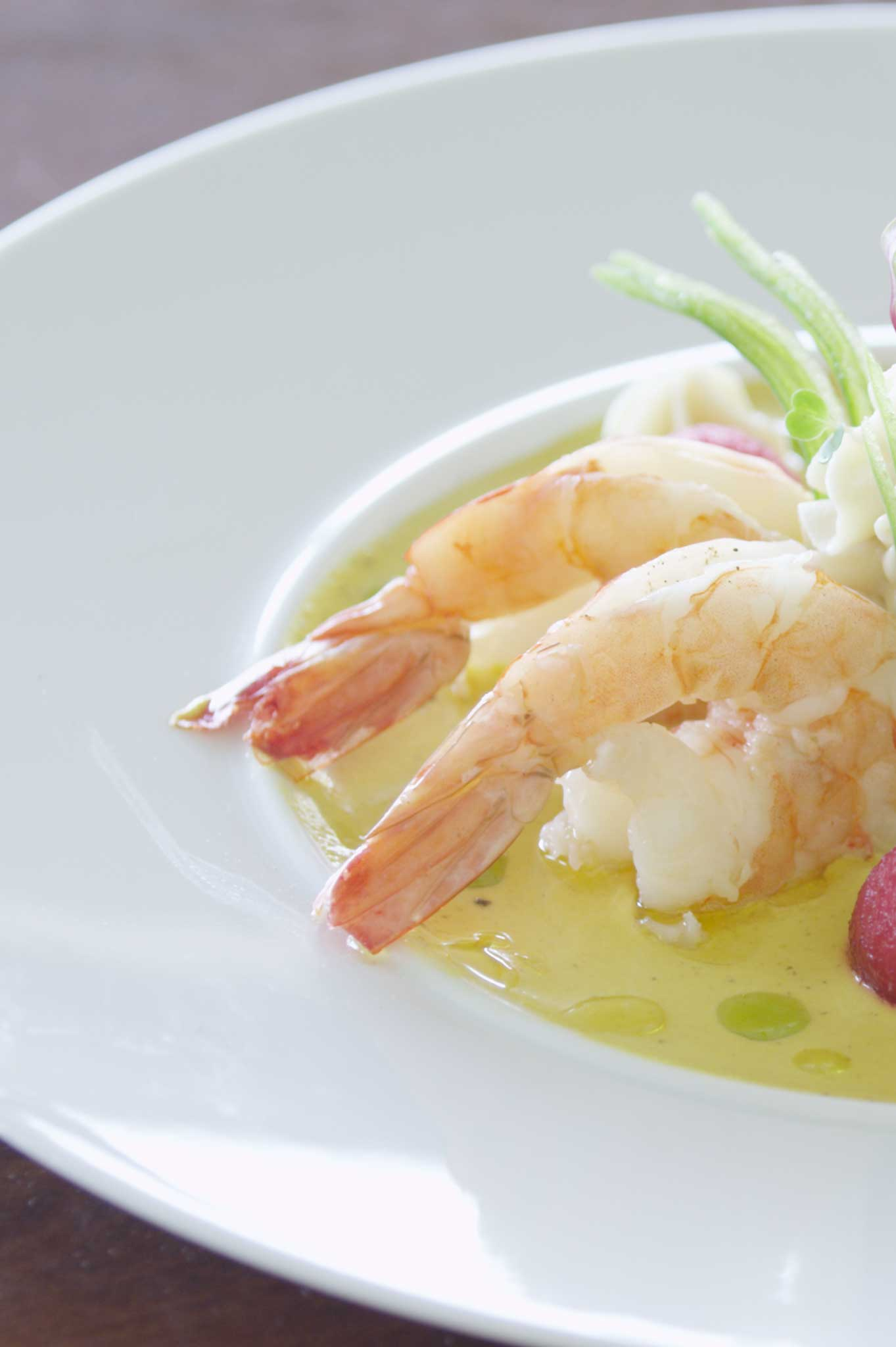 Tasty Shrimps at St.Lucia Resorts