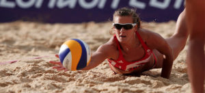 Beach volleyball star Zara Dampney at BodyHoliday July 2019