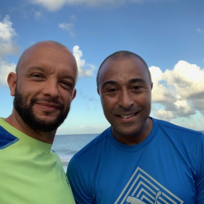 Jamie Baulch & Colin Jackson are at BodyHoliday December 2019