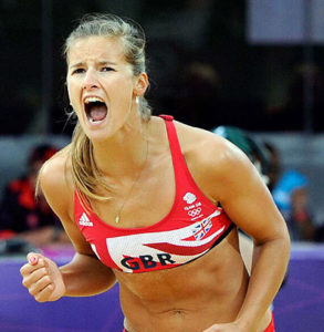 Zara Dampney Olympic Volleyball at BodyHoliday St Lucia this July