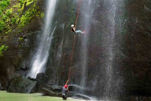Abseiling at bodyholiday