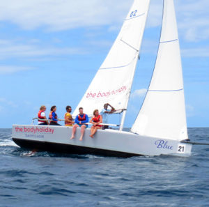 sailing at bodyholiday
